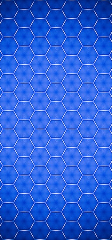 Texture Blue Shape Wallpaper 720x1544 380x815