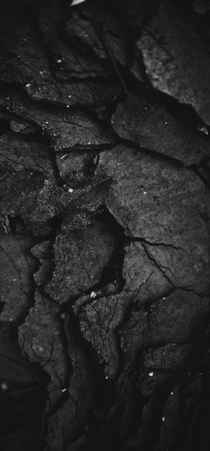 Texture Surface Dark Wallpaper 720x1544