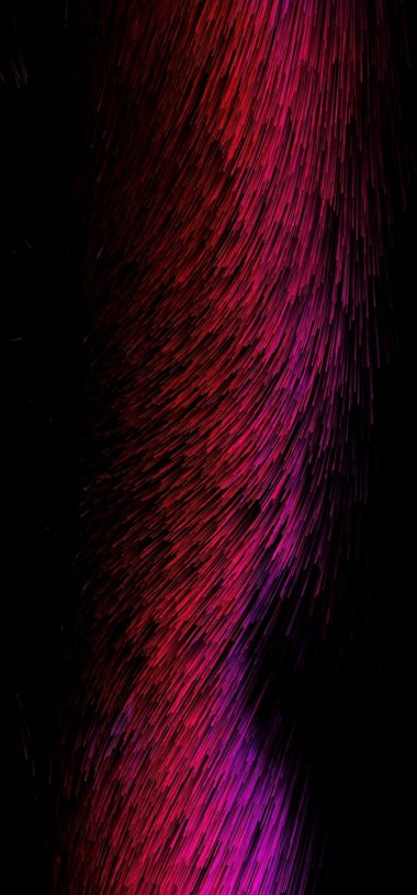 Threads Glow Red Pink Abstract Wallpaper 720x1544 380x815