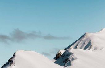 Top Mountain Cloud Minimalism Wallpaper 720x1544 340x220