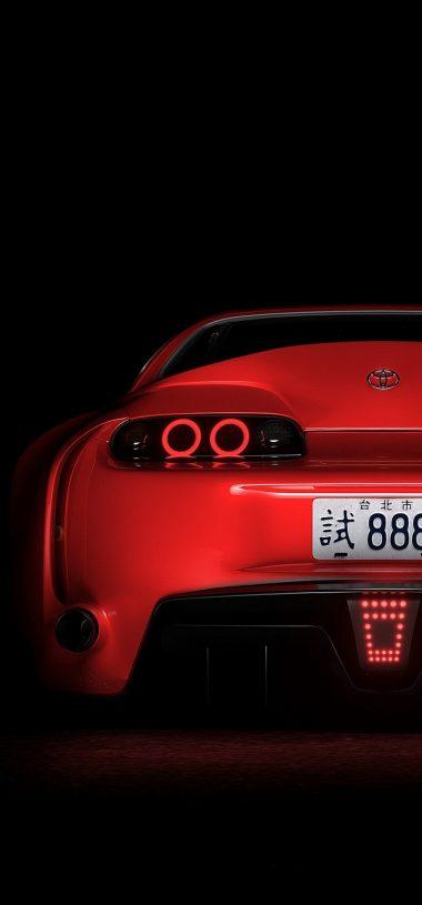 Toyota Supra Toyota Sportscar Wallpaper 720x1544 380x815