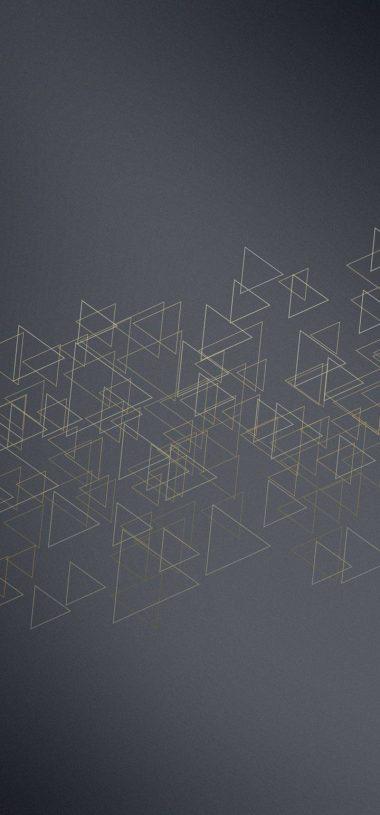 Triangles Icon Texture Wallpaper 720x1544 380x815