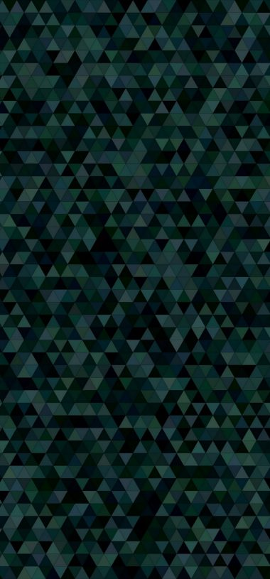 Triangles Mosaic Dark Texture Wallpaper 720x1544 380x815
