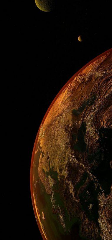 Universe Planet Space Wallpaper 720x1544 380x815