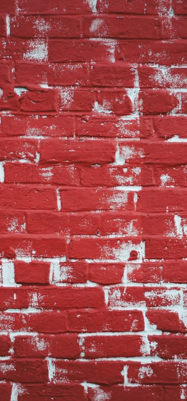 Wall Brick Paint Texture Wallpaper 720x1544 380x815