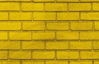 Wall Brick Yellow Wallpaper 720x1544 340x220