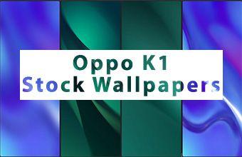 Oppo K1 Stock Wallpapers