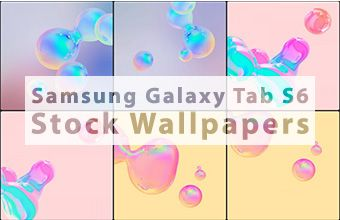 Samsung Galaxy Tab S6 Stock Wallpapers