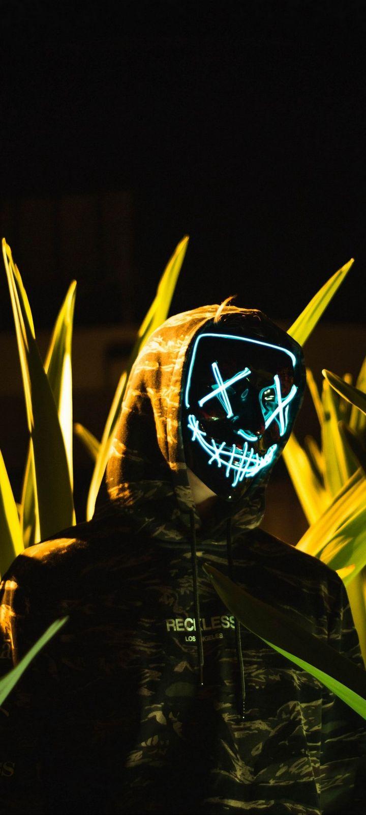 Anonymous Mask Hood Wallpaper 720x1600