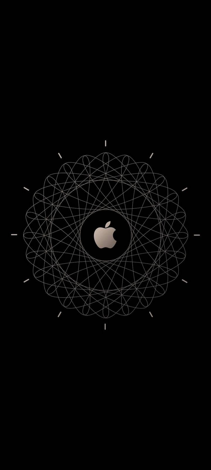 Apple Logo Brown Technology Wallpaper 720x1600