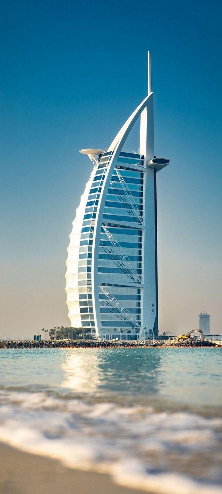 Architecture Building Burj Al Arab Wallpaper 720x1600