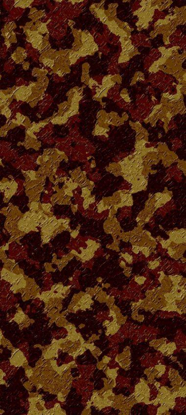 Army Camo Texture Design Wallpaper 720x1600 380x844