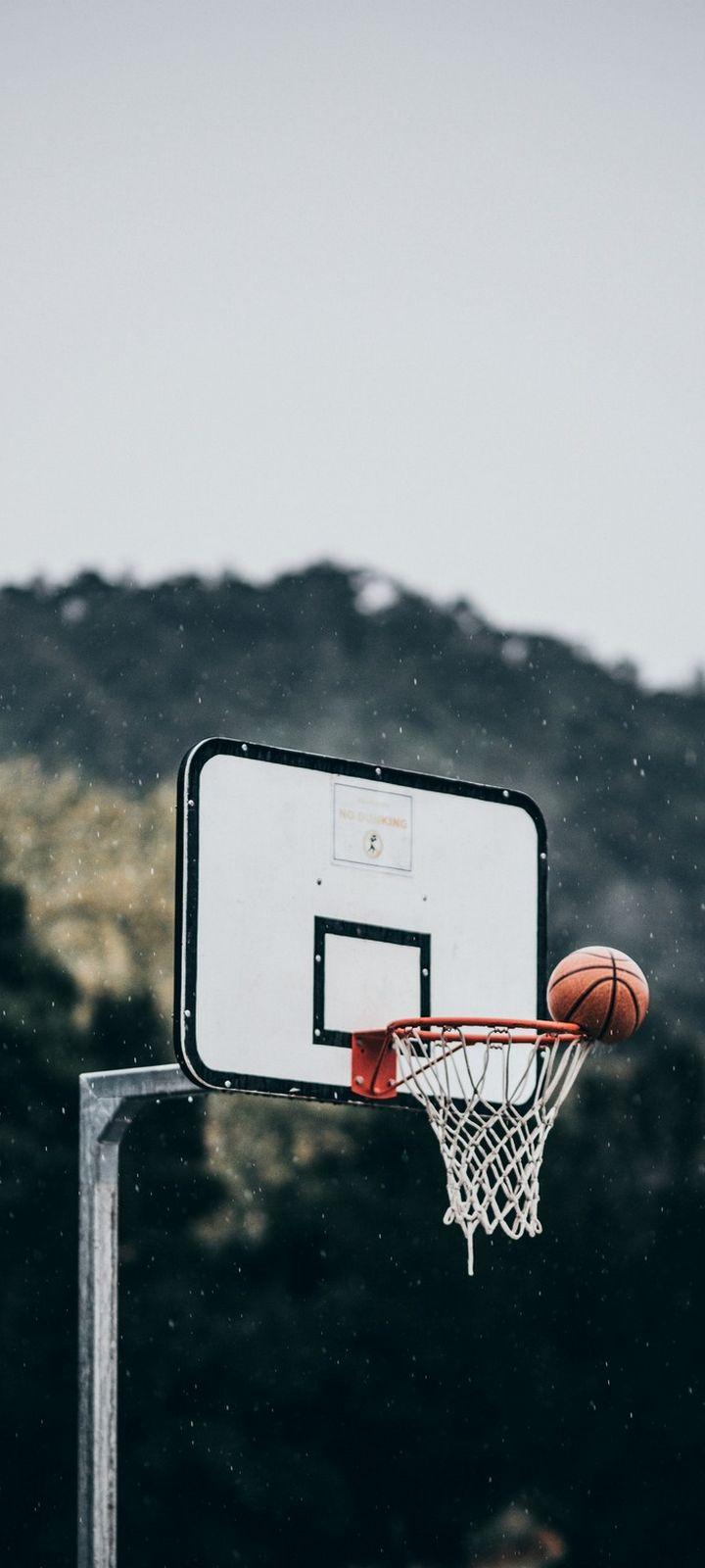 Basketball Ball Basket Wallpaper 720x1600