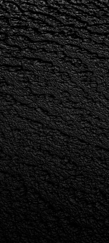 Black Surface Texture Wallpaper 720x1600 380x844