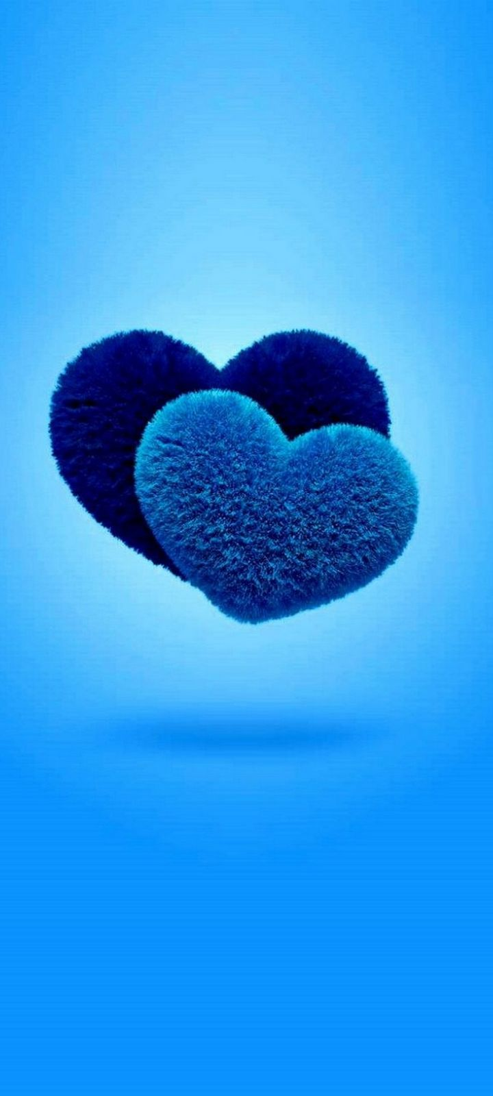 Blue Love Wallpaper 720x1600