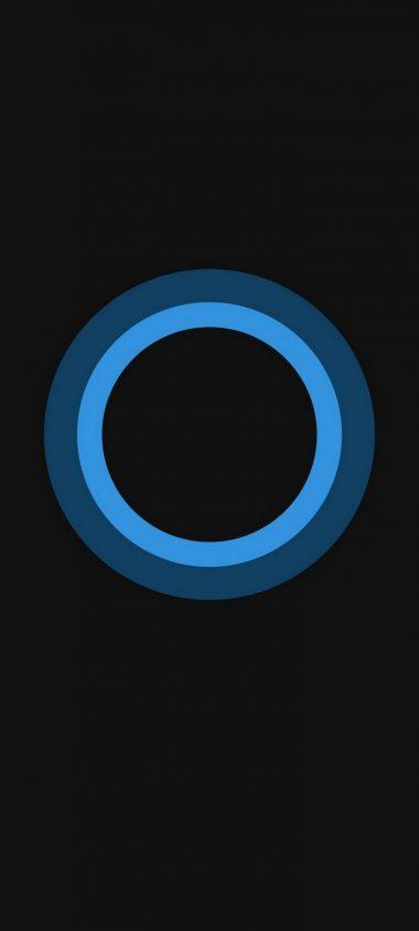 Bluish Circles Minimal Wallpaper 720x1600 380x844