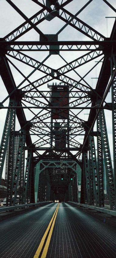 Bridge Construction Road Wallpaper 720x1600 380x844