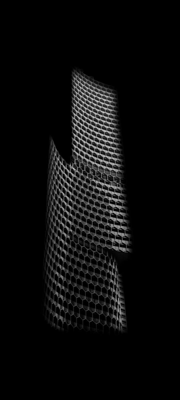 Building Shadow Minimalism Wallpaper 720x1600