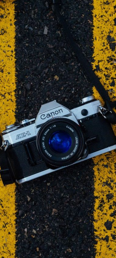 Camera Asphalt Markup Wallpaper 720x1600 380x844