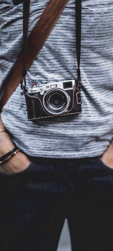 Camera Strap Lens Wallpaper 720x1600 380x844