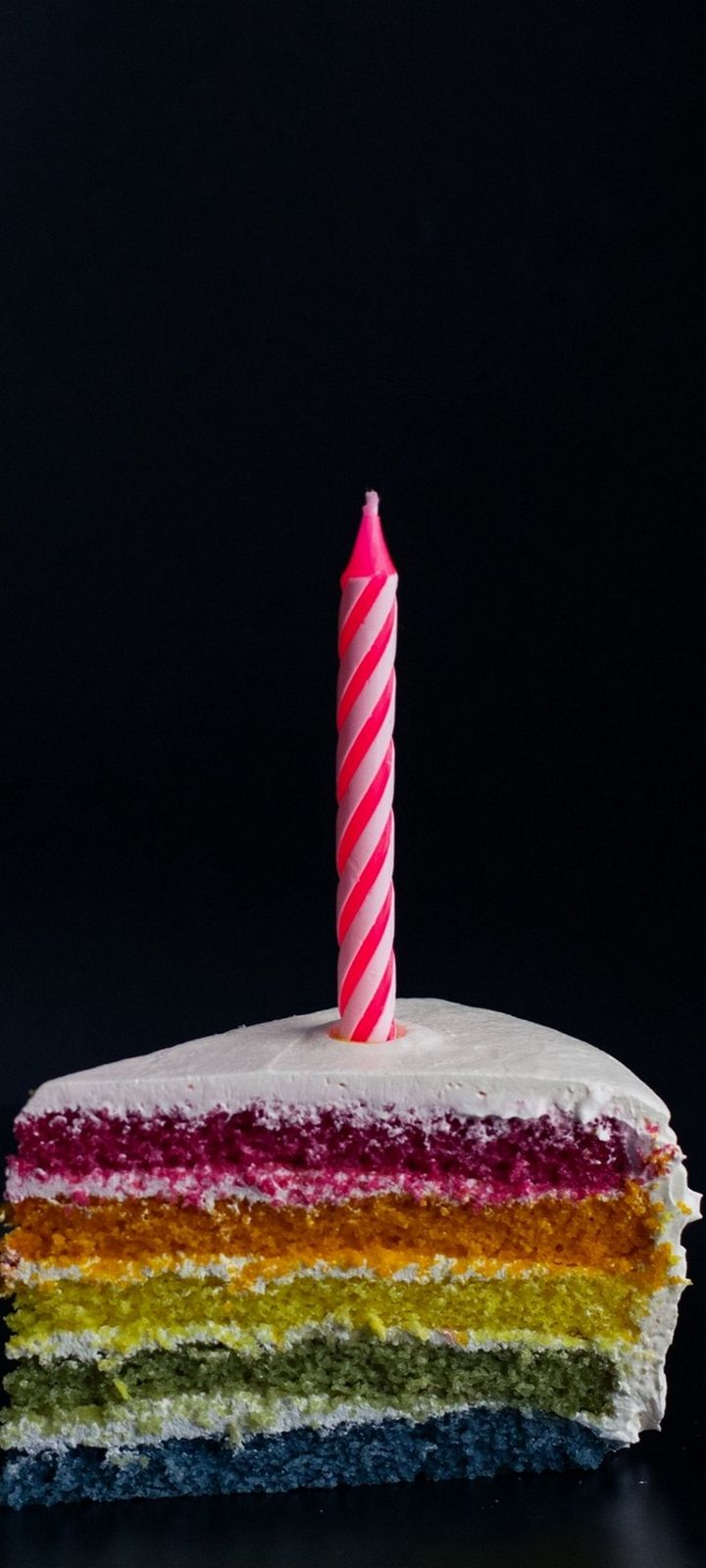 Candle Cake Food Wallpaper 720x1600