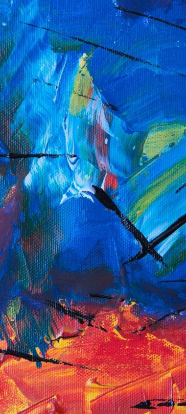 Canvas Colorful Texture Wallpaper 720x1600 380x844