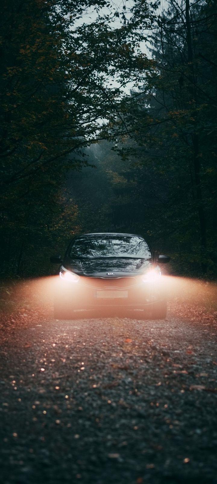 Car Fog Lights Wallpaper 720x1600