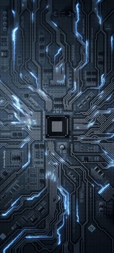 Chip Circuit Processor Wallpaper 720x1600 380x844