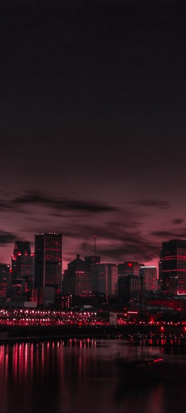 City Night Panorama Wallpaper 720x1600 380x844