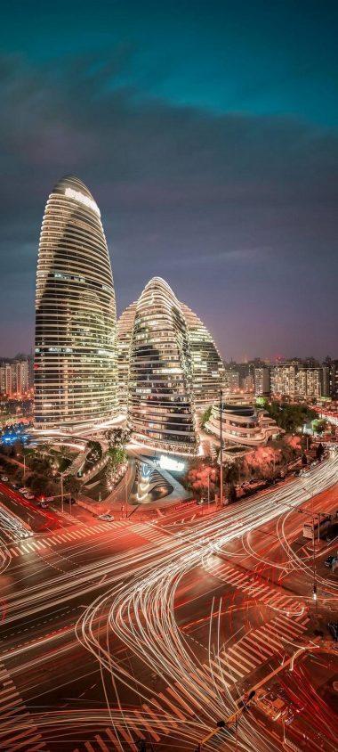City Tower View World Wallpaper 720x1600 380x844