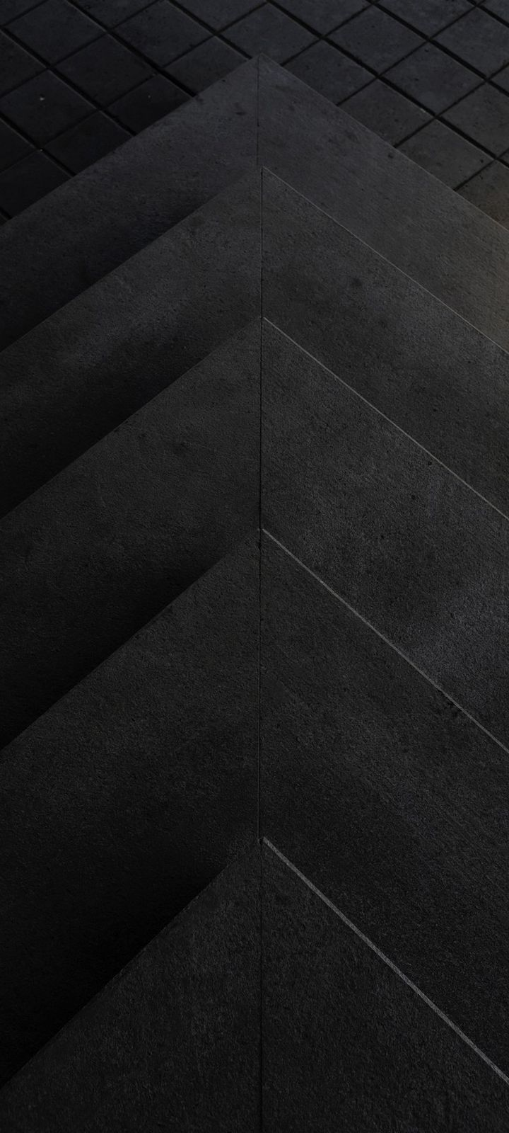 Construction Triangles Bw Wallpaper 720x1600