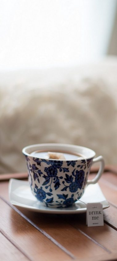 Cup Tea Drink Wallpaper 720x1600 380x844