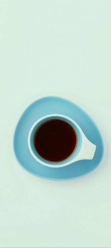 Cup Top View Minimalism Wallpaper 720x1600 380x844