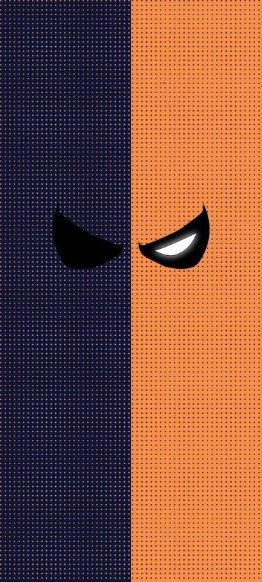 Deathstroke Minimal Wallpaper 720x1600 380x844