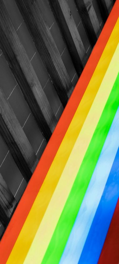 Design Colorful Rainbow Wallpaper 720x1600 380x844