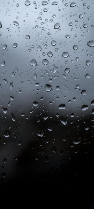 Drops Wet Glass Wallpaper 720x1600 380x844