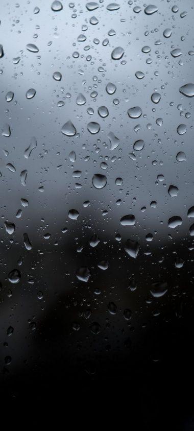 Drops Wet Glass Wallpaper 720x1600 380x844