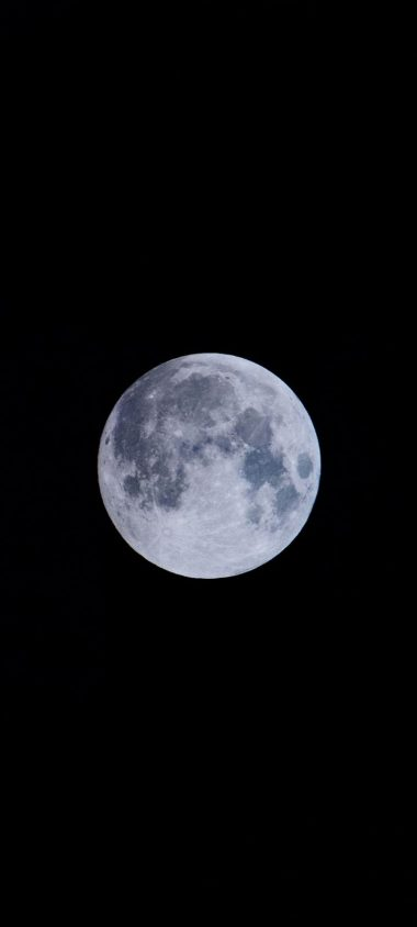 Full Moon Moon Satellite Wallpaper 720x1600 380x844