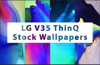 LG V35 ThinQ Stock Wallpapers