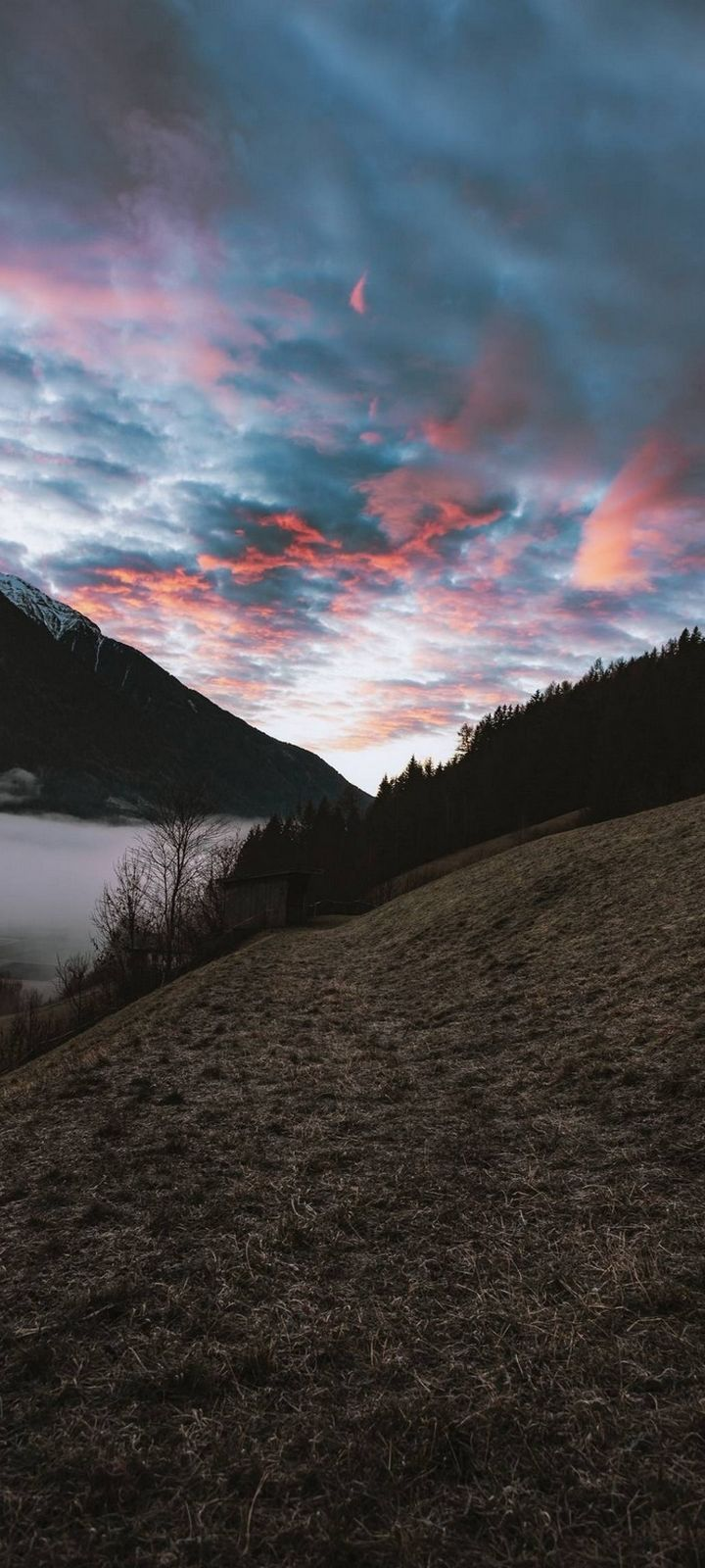 Landscape View Beautiful Sky Wallpaper 720x1600