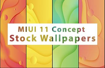 MIUI 11 Concept Stock Wallpapers