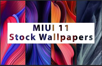 MIUI 11 Stock Wallpapers