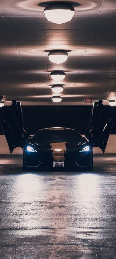 McLaren Sports Car Wallpaper 720x1600 380x844