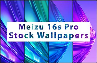 Meizu 16s Pro Stock Wallpapers