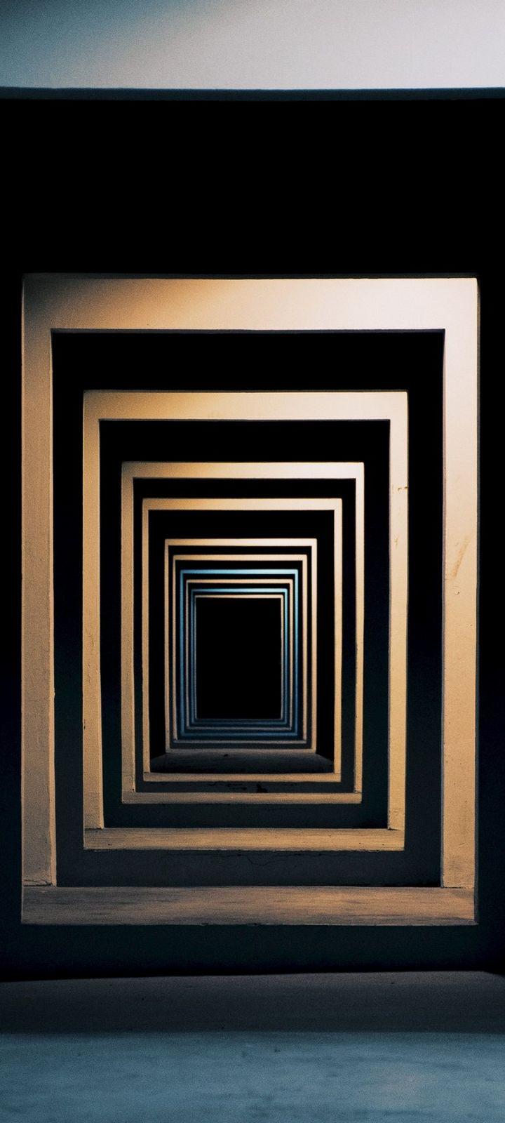 Minimalism Symmetry Space Wallpaper 720x1600