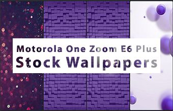 Motorola One Zoom E6 Plus Stock Wallpapers