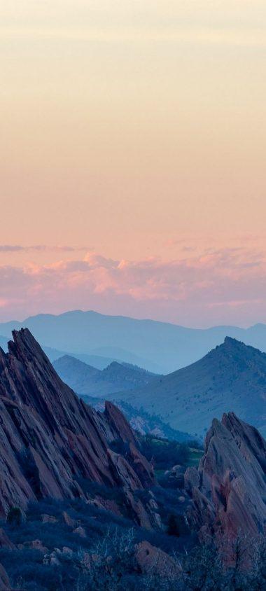 Mountains Rocks Landscape Wallpaper 720x1600 380x844