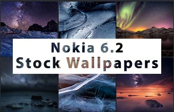 Nokia 6.2 Stock Wallpapers