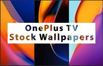 OnePlus TV Stock Wallpapers