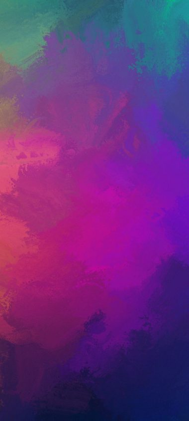 Paint Colorful Overlay Wallpaper 720x1600 380x844